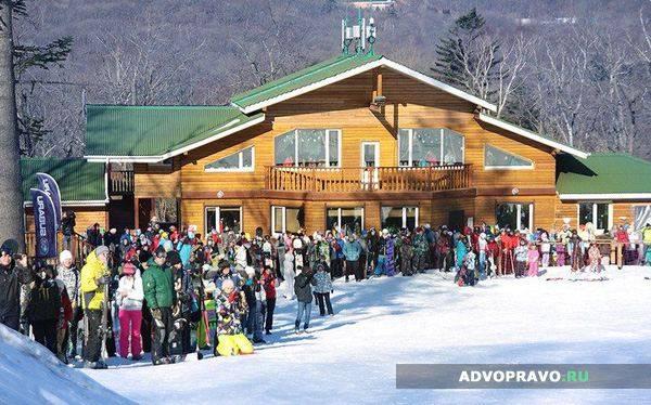 Сторож горнолыжной школы