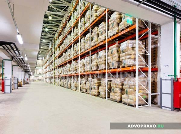 Выбор складского помещения для аренды